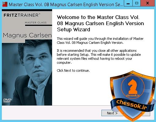 کلاس استادبزرگی جلد 8 : مگنوس کارلسن DVD اورجینال Master Class Vol.8: Magnus Carlsen