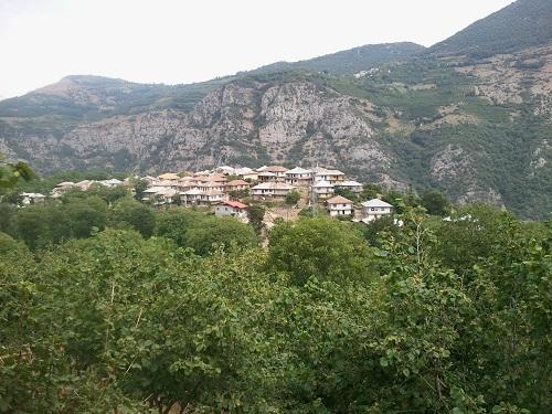 طبیعت روستای طیولا