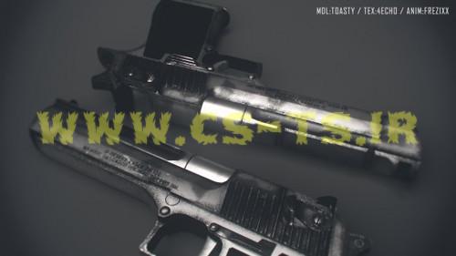 دانلود اسکین اسلحه ای Desert Eagle برای کانتر سورس
