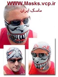 ماسک دندان ببر