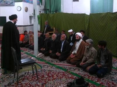 ریاست سازمان تبلیغات اسلامی در مسجد جامع روداب
