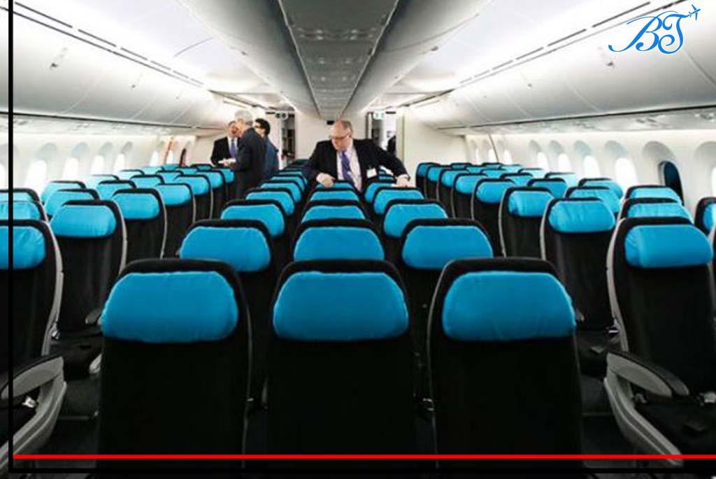 صندلی هواپیما-بلیط جت