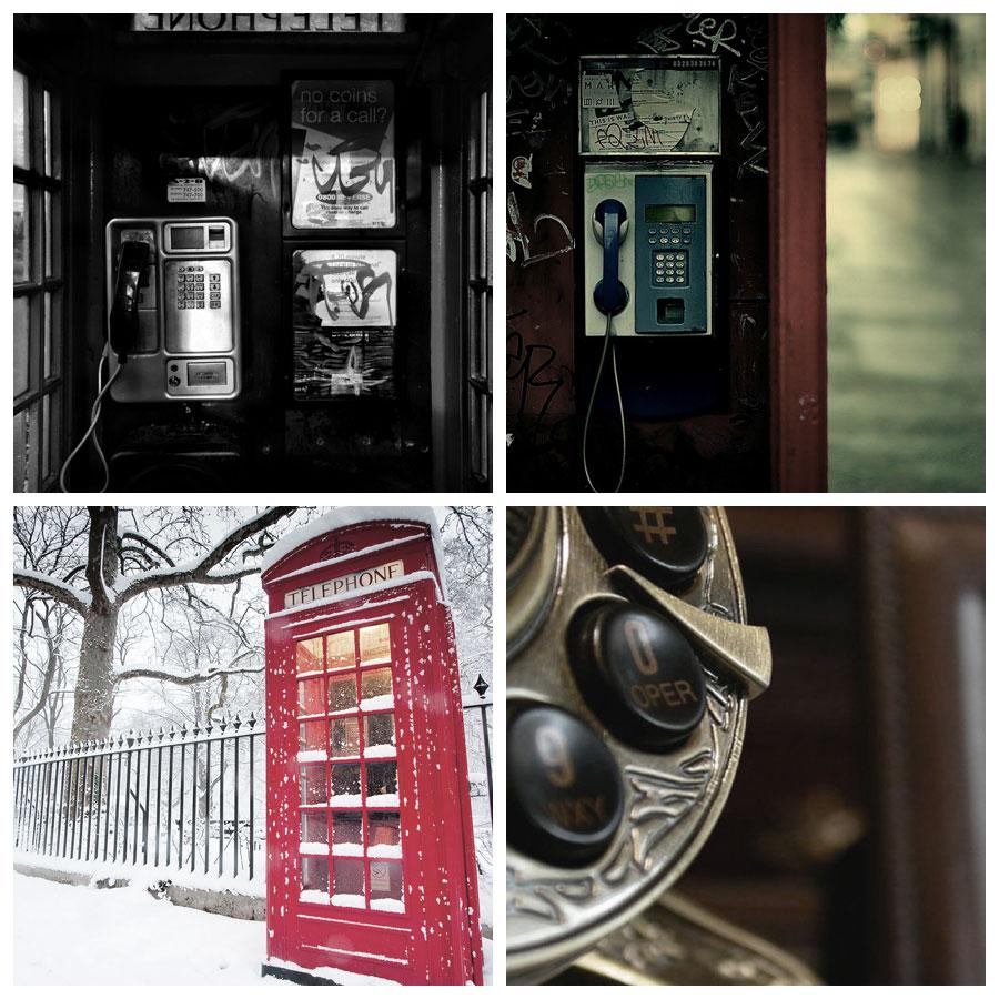 تک عکس عاشقانه ؛ تلفن
