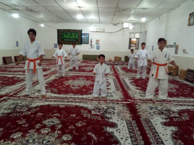 کلاس کاراته