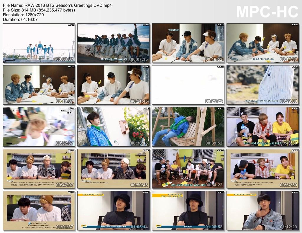 lpl raw 2018 bts season 39 s greetings dvd.mp4 thumbs - VIDEO /LINK ]: PERSIAN Sub- BTS' 2018 -2017 SEASON'S GREETINGS ]
