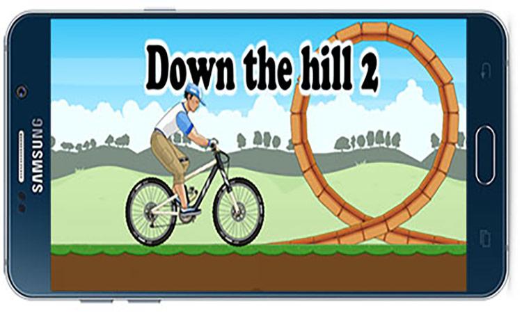 دانلود بازی اندروید Down the hill 2