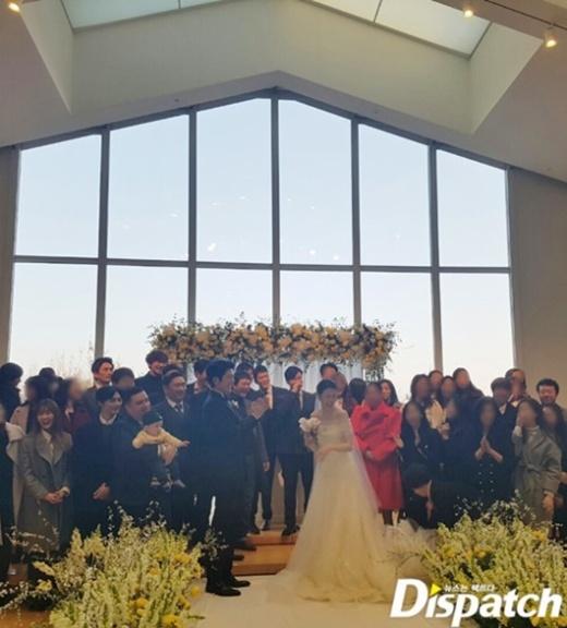 عکس های منتشر شده از مراسم عروسی park ha sun و ryu soo young