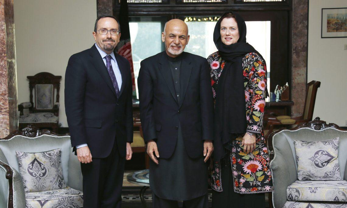 Image result for جان بس سفیر ایالات متحده در کابل