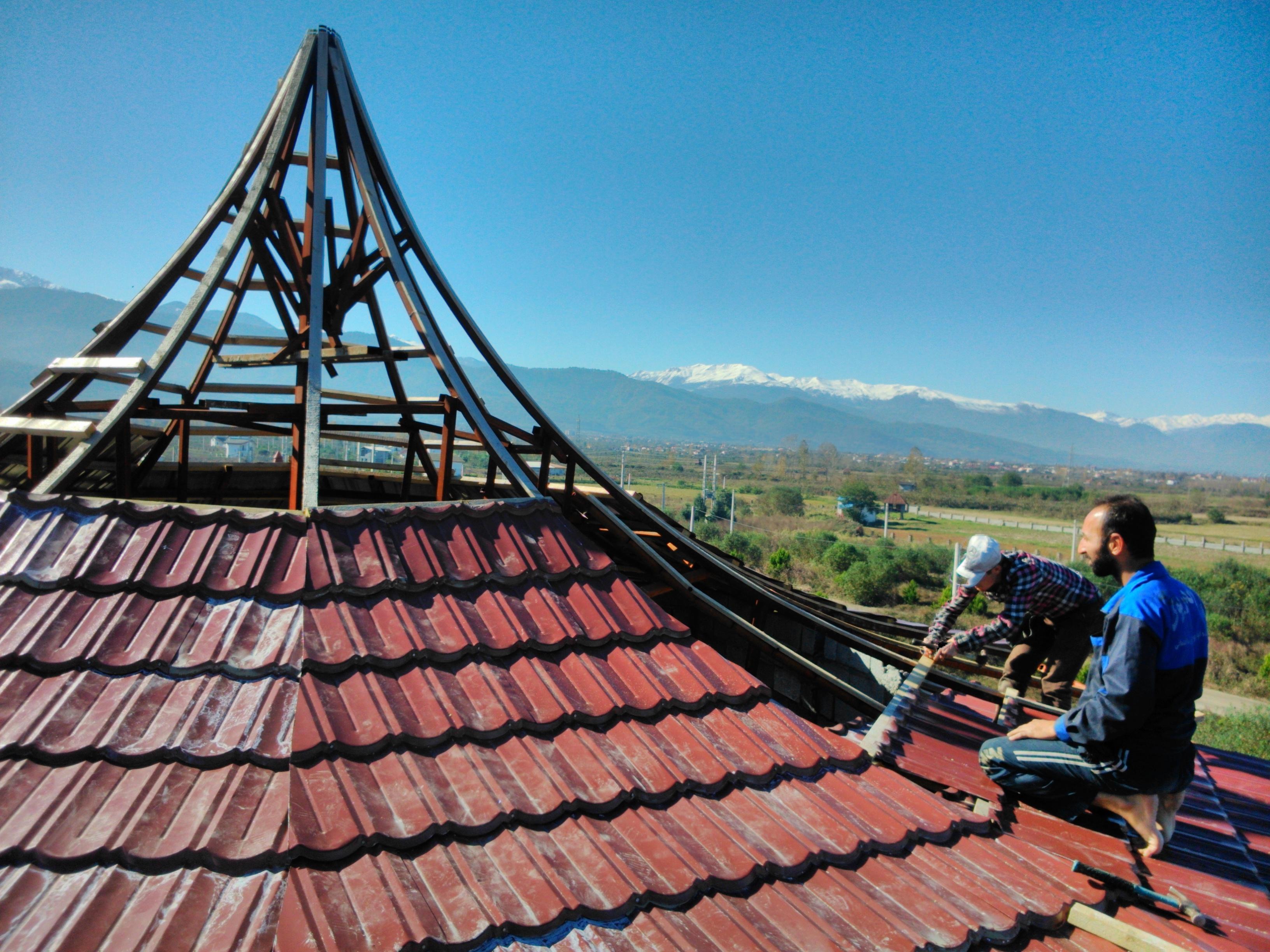 پوشش سقف مرکزی چالوس
