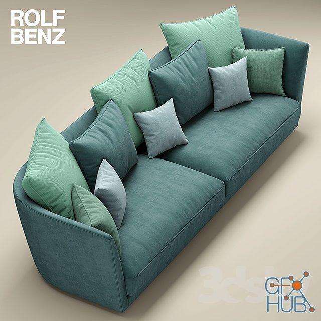 m2ww 1552148810 sofa rolf benz tondo 03 2 - مجموعه مدل سه بعدی تخت و مبلمان - 001