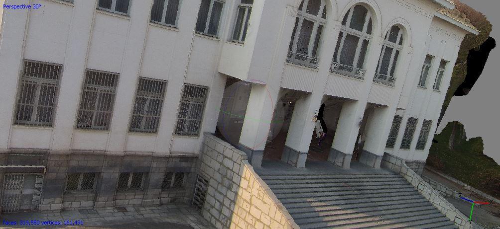 فتوگرامتری برد کوتاه - مدلسازی سه بعدی کاخ سعد آباد