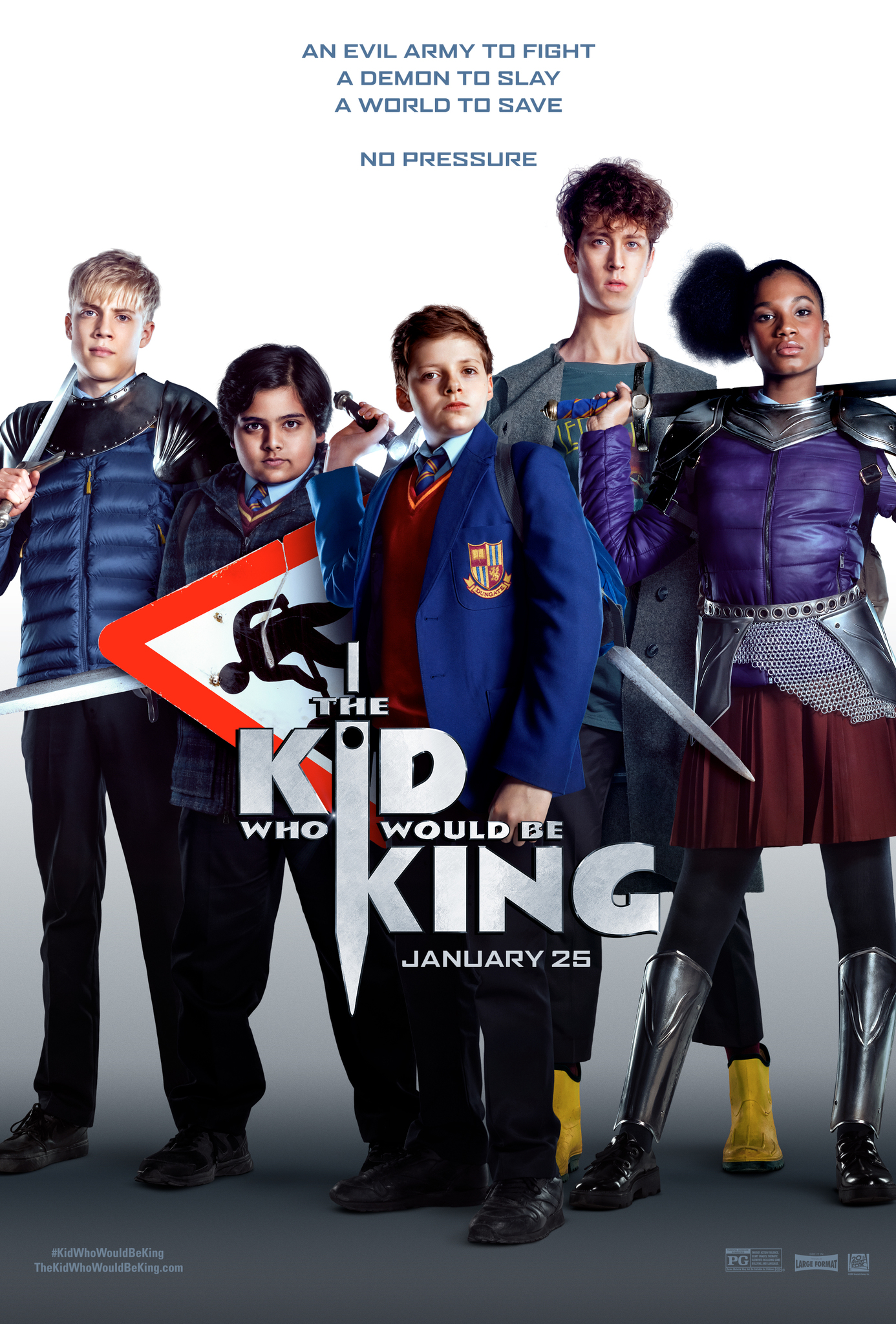 دانلود فیلم The Kid Who Would Be King 2019
