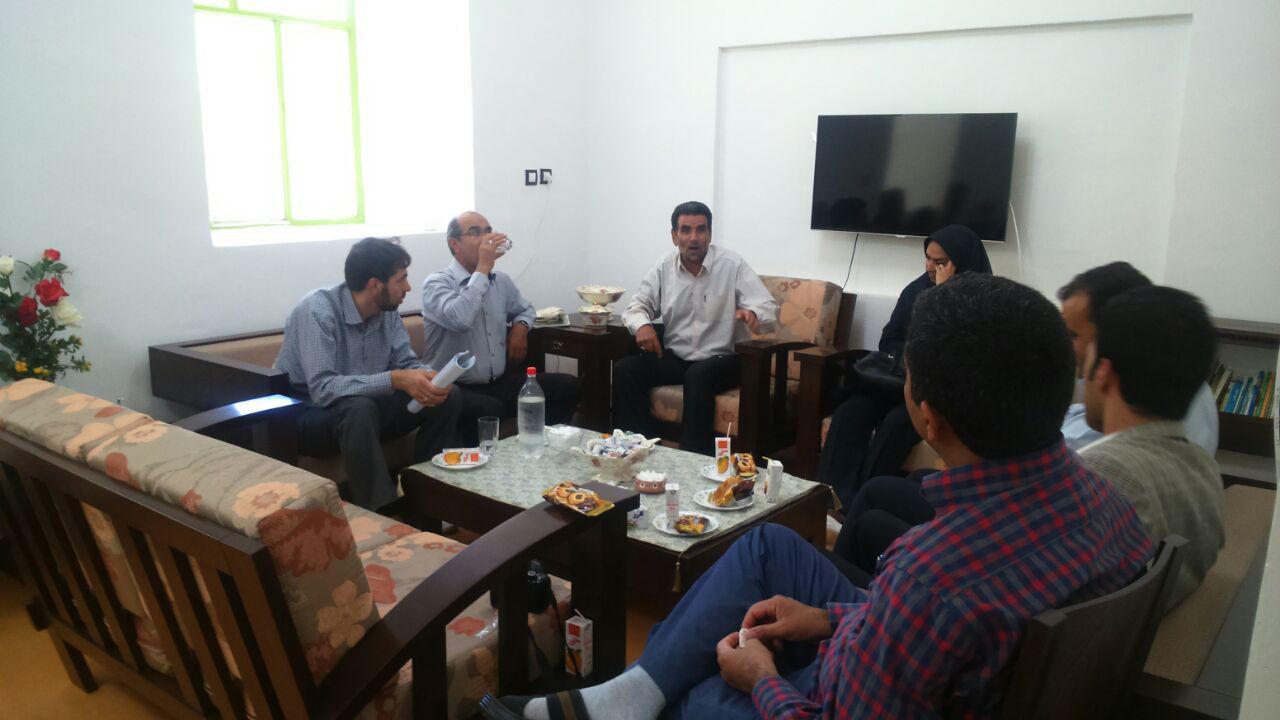 بازدید کارشناسان از طرح هادی روستای سنو