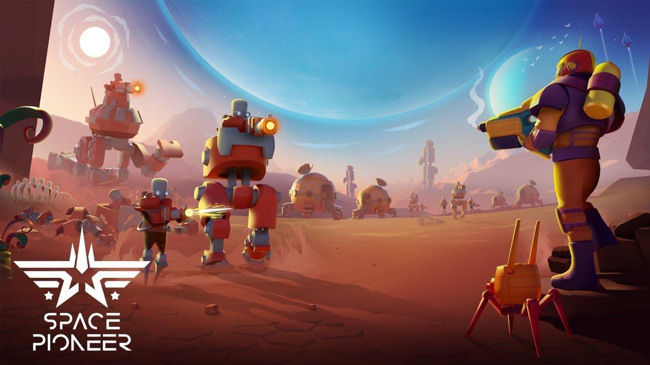 گیم پلی بازی Space Pioneer برای اندروید و آی او اس