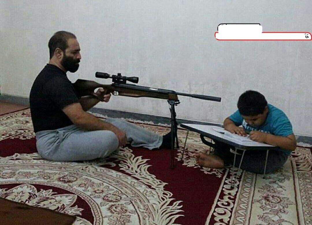 بچه های امروز رو اینطور باید درس خون کرد !