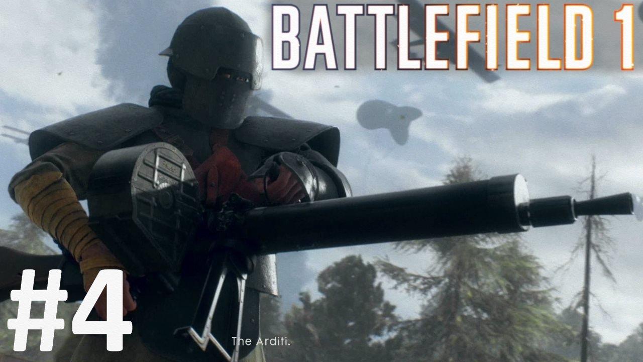 گیم پلی بازی بتلفیلد 1 مرحله 4 - Battlefield 1 Gameplay