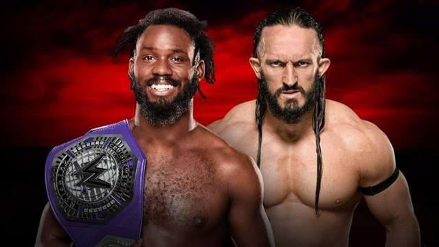 WWE Cruiserweight Title Match Rich Swann (c) vs. Neville