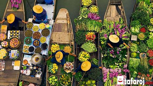 بازارهای شناور در بانکوک