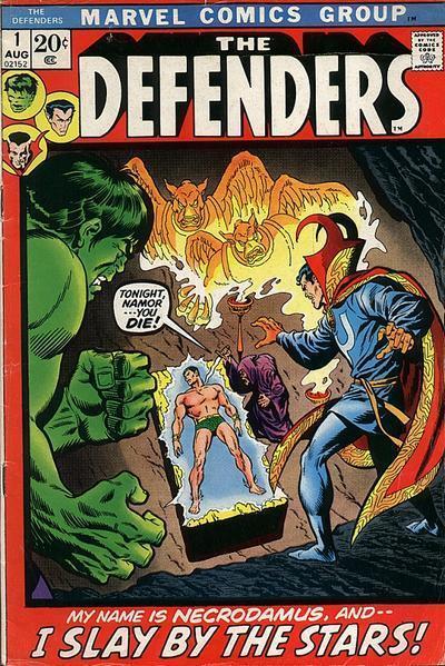 کمیک defenders