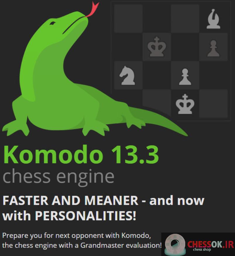 دانلودموتور قدرتمند شطرنج کومودو Komodo 13 .03chess engine نسخه اورجینال 2020