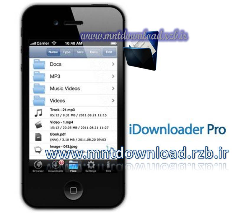 مدیریت دانلود قدرتمند با iDownloader Pro 2.0.1 – آیفون و آیپد