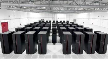 تصویری از محلی که ابرکامپیوترها را نگهداری میکنند