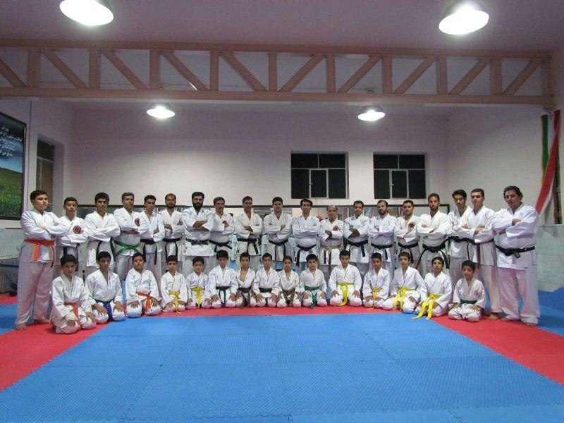 گرد هم آیی انجمن کان ذن ریو کاراته استان یزد