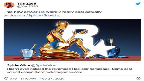 شایعات در مورد رونمایی از GTA VI همزمان با تغییر شکل رمزآلود وبسایت  Rockstar Games، فوران کرد. . .