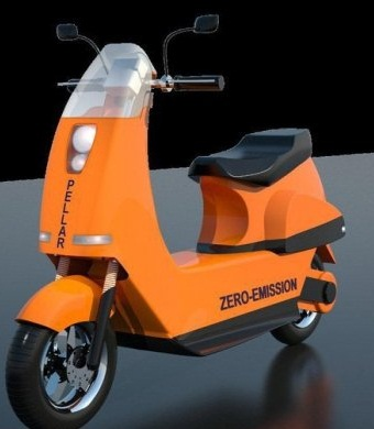 موتورسيكلت هيبريد پيل سوختي در كشور ساخته شد