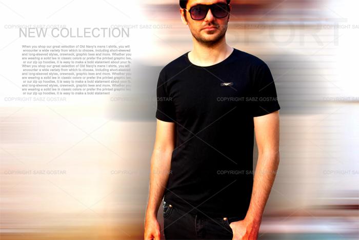 فروش ویژه تیشرت مردانه ی new collection