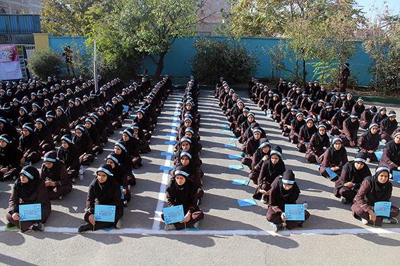 نهضت دخترانه ما زنده ایم ، مدرسه صدیقه کبری س