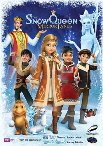 دانلود انیمیشن The Snow Queen Mirror Lands 2018