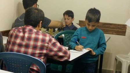 مسابقات مدرسه شطرنج نوین به مناسبت هفتهء تربیت بدنی