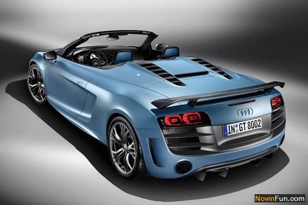 ماشین ها و موتورها8_ خودرو های اسپایدر (SPIDER) : خودرو هایی که دارای سقف تا شو هستند.