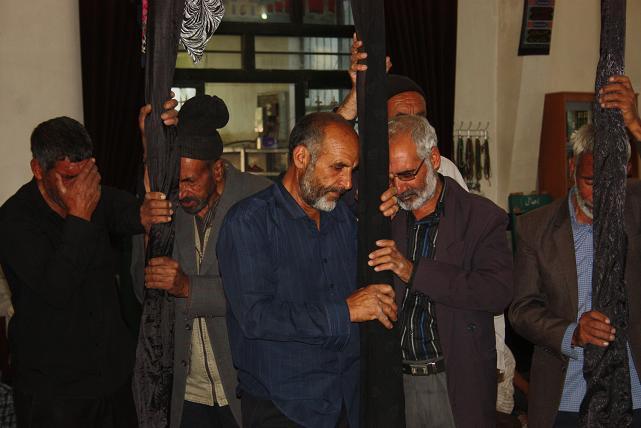 مراسم سنتی علم بندان درآبیز
