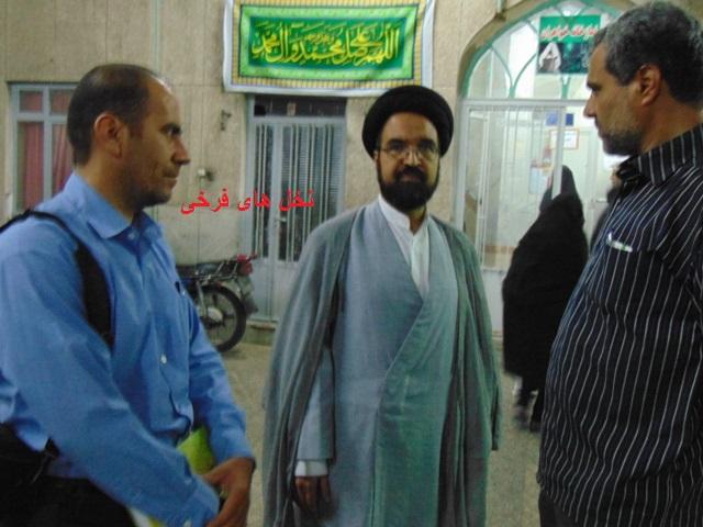 با ستارگان آسمان علم و دانش شهر فرخی (6) حجه الاسلام والمسلمین دکتر سید حسن قاضوی nf26 dsc06024