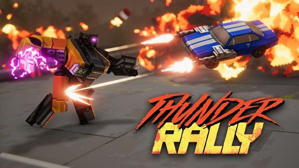 بازی Thunder Rally معرفی شد + ویدئو