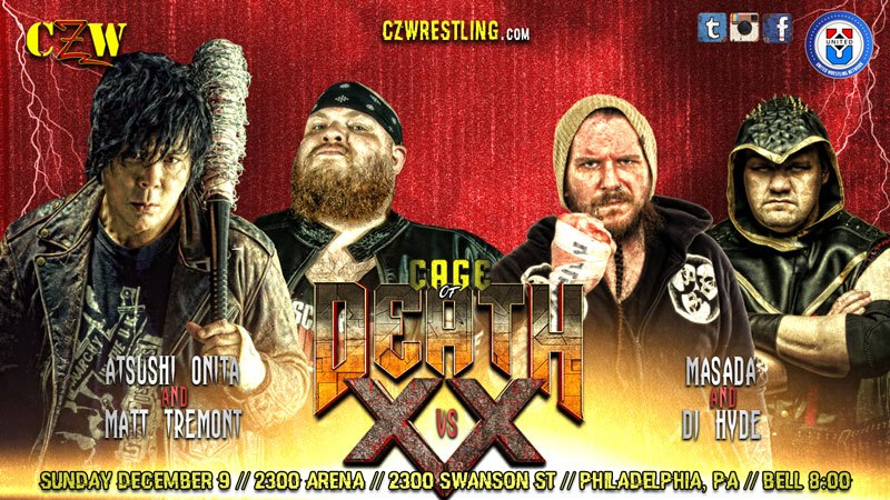 CZW Cage Of Death 20