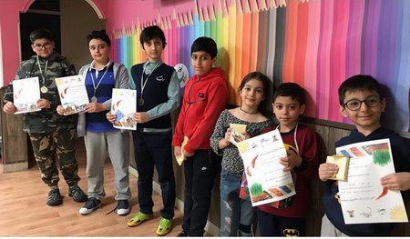 جام فروردین مدرسه ایران زمین