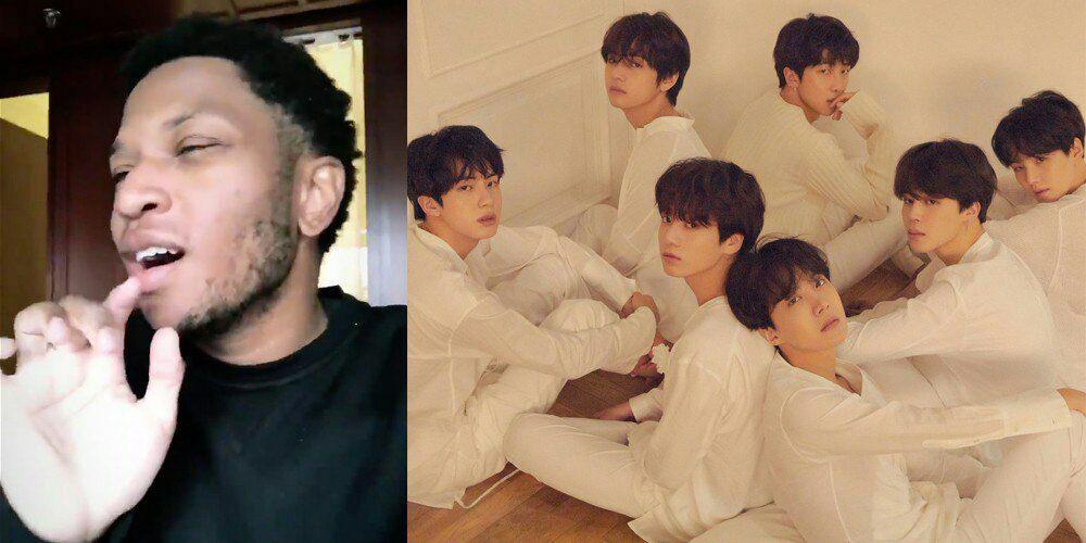 خواننده Gallant با کاور کوتاهی از Singularity از BTS به استقبال کامبک این گروه رفت.🔥