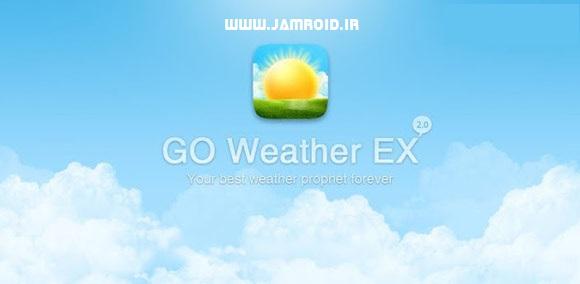 دانلود GO Weather 5.54   برنامه هواشناسی زیبای گو اندروید