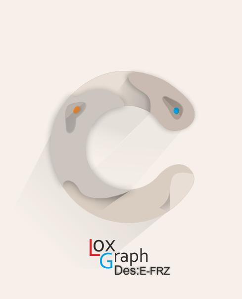 لوگوی C | لوگوی گرافیکی c | طراحی گرافیکی لوگو