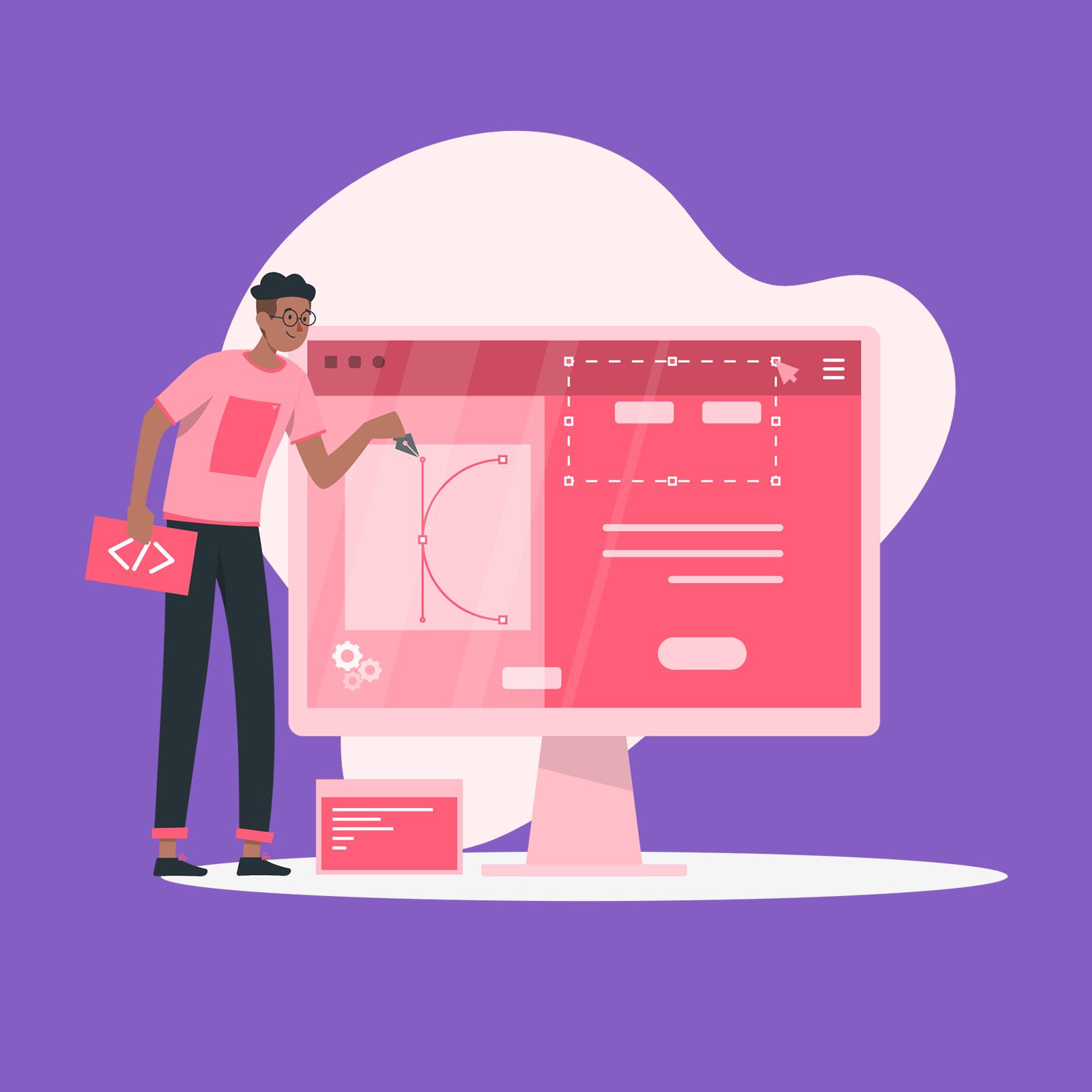 دوره ی طراحی و برنامه نویسی وب سایت