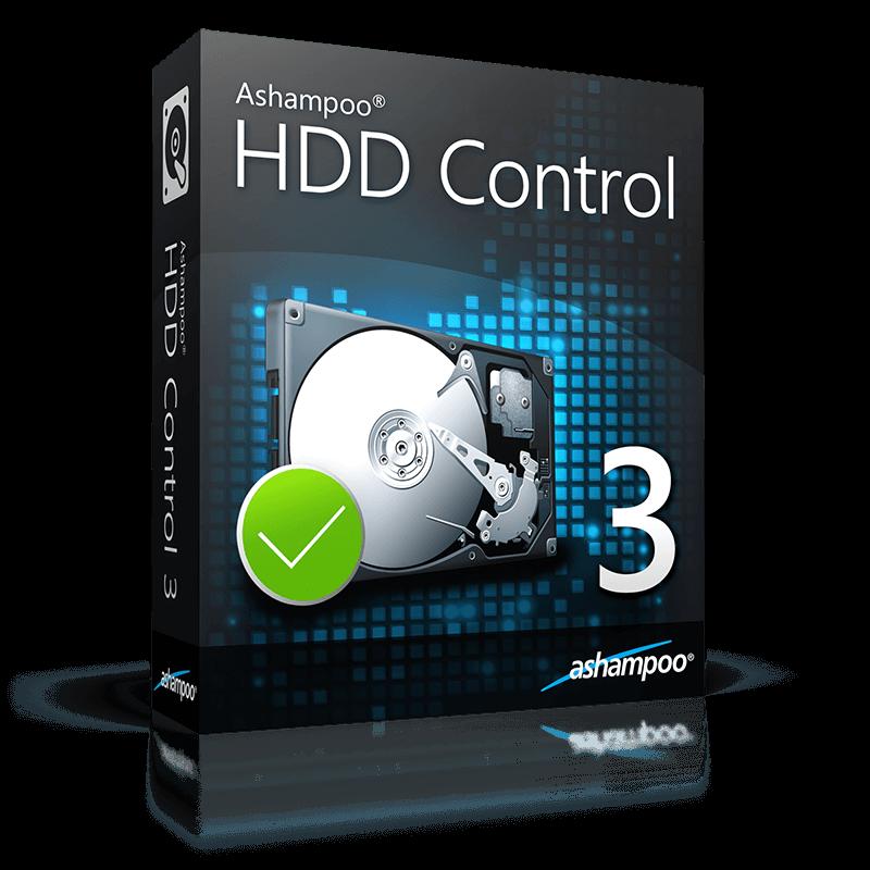 نگهداری و بهینه سازی هارد دیسک Ashampoo HDD Control 2.10