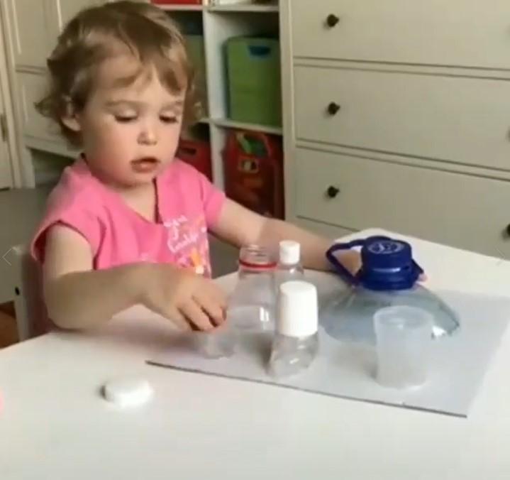شکل نهایی بازی شناخت اندازه ها برای کودکان