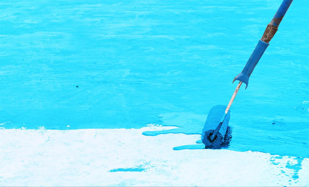 رنگ استخری پایه آب