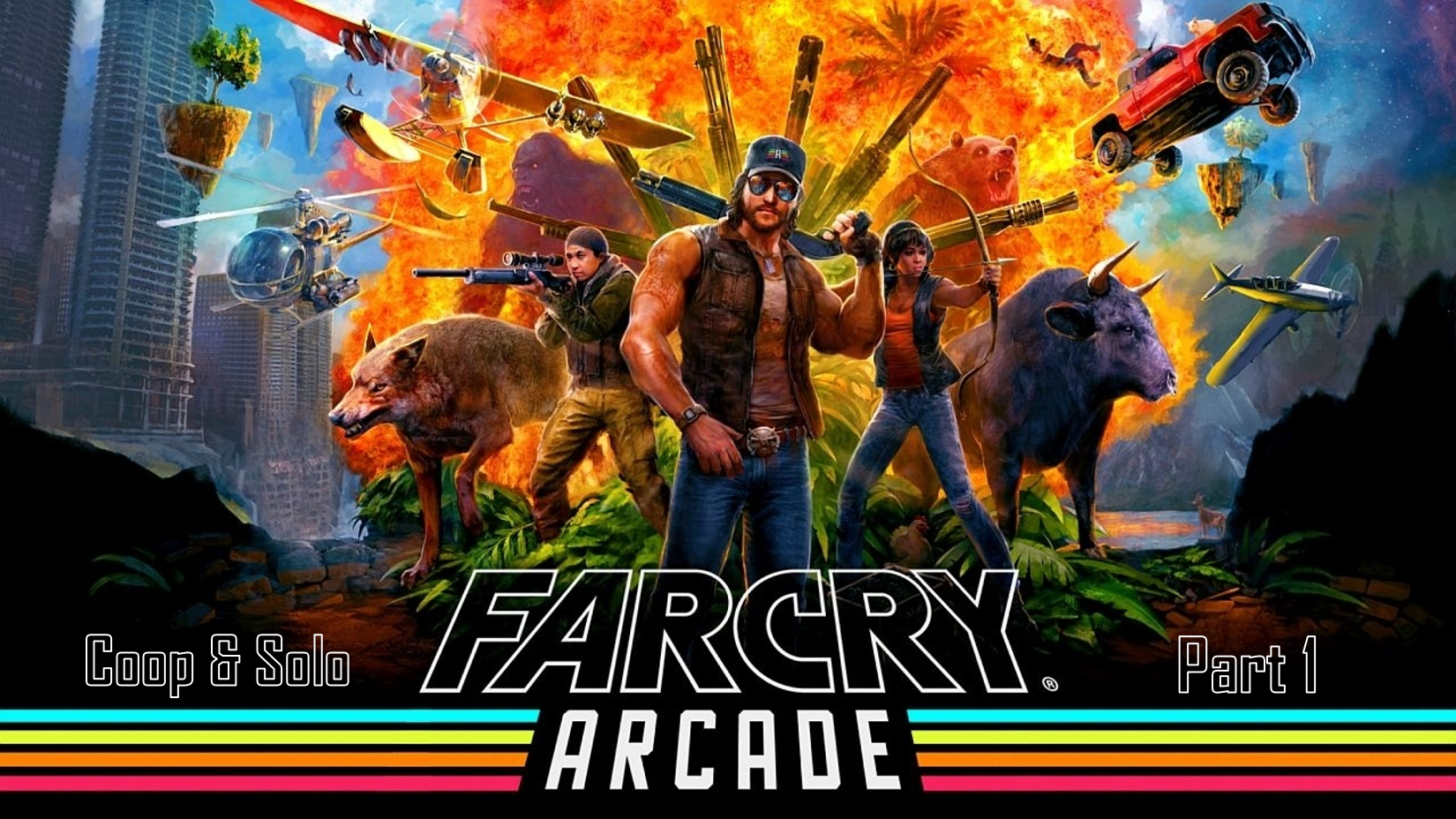 گیم پلی بازی(Far Cry 5 online arcade(Play Solo&Coop قسمت 1