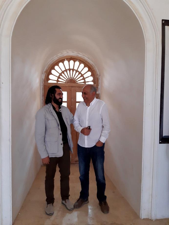 احمد محمود امپراطور با استاد احمد سلطان کریمی رئیس میدیوتیک افغانستان