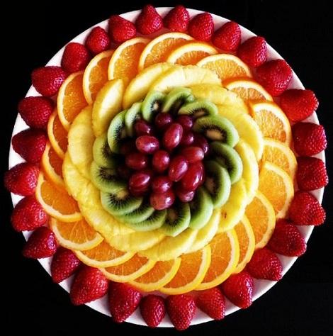 [تصویر: میوه آرایی]