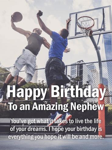 تولد یک برادرزاده شگفت انگیز مبارک. آنچه را که برای زندگی در رویاهای خود لازم است به دست آورده اید. امیدوارم تولد شما همه چیزهایی باشد که امیدوارید باشد و بیشتر.